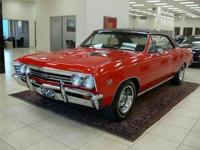 This 1967 Chevelle Malibu SS 396 Sport Coupe Clone was