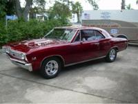 "1967 Chevy Chevelle SS for Sale. A restored real ""138"