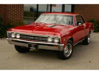 Here is a sharp looking 1967 Chevrolet Chevelle SS-396,