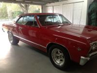 1967 Chevelle, Malibu Completely restored. 4 Speed