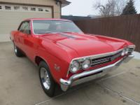 -1967 CHEVELLE SS BIG BLOCK CHEVY ROCK SOLID ORIGANIAL