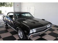 Triple black 1967 Chevelle true SS 396 Big Block 4