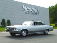 This 1967 Chevrolet Chevelle SS Sport Coupe features a