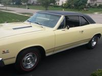 1967 Chevrolet Chevelle SUPER SPORT  This car has