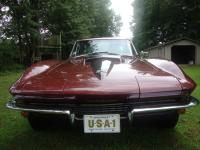 1967 CORVETTE COUPE ORIGINAL 400 HORSE POWER CAR, TANK
