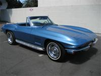 1967 Corvette Convertible VIN 194677S118810. Matching #