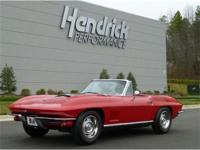 This 1967 Chevrolet Corvette Convertible features a 427