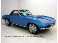 1967 Corvette Convertible, two tops, 427-435 hp, 4