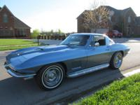 1967 CHEVROLET CORVETTE COUPE 427/435 HP NUMBERS