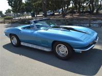 1967 Chevrolet Corvette Convertible. Its been frame off
