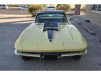 This is a pristine example of the king of Corvettes. A