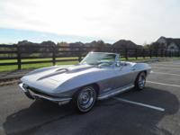 1967 CHEVROLET CORVETTE CONVERTIBLE MATCHING 427/435