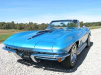 1967 Corvette roadster with the original numbers