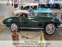 Chevrolet Corvette Stingray stringray Manual 4-Speed