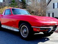 1967 Chevrolet Corvette STINGRAY  THE FOLLOWING IS LIST