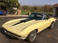 1967 Chevrolet Corvette Stingray Convertible.