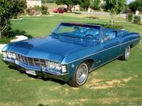 1967 Impala Super Sport Convertible - 327 V8! If you