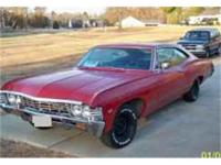 This great 1967 Chevrolet Impala 2 dr sedan is a