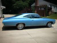 1967 Impala SS, 327/275 HP, Power Glide. Garage kept