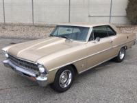 1967 CHEVROLET NOVA CHEVY II -42251 MILES.  -READY TO