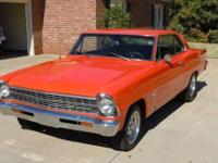 CHEVY NOVA II, 2 door hardtop with 355 chev motor