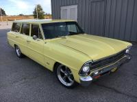 1967 Chevy Nova 4 door station wagon 1972 454 4-bolt