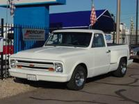 1967 Chevy C10 Stepside Custom - Super Clean, Pearl