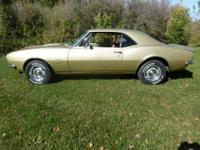 Selling my 1967 Camaro-- ****Light Gold Paint and