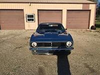 1967 Chevy Camaro (MO) - $36,000 2 door. Marina Blue