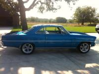 1967 Chevy II Nova Motor is a 350 with Vortec Heads /