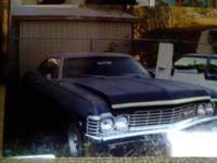 I have a 1967 Chevy Impala up for sale. The car runs