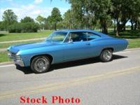 1967 Chevy Impala Hardtop for sale, timeless, interior