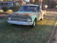 1967 Chevy truck. LWB straight 6. 3 speed.All Original.