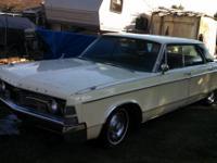 This is an all original 1967 4-door Chrysler New Yorker