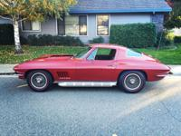 I am selling my 1967 Corvette 427 390hp 4 speed