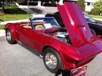 Frame off restoration of 1967 corvette that is show