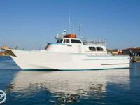Welcome aboard Folks, This Versitile Charter boat and