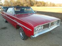 -1967 Dodge Coronet Convertible with 81,000 miles.
