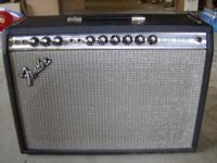 Selling my 1967 Fender Deluxe Reverb Amp, good
