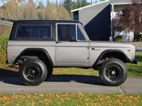 1967 Bronco.Brand New Anodized Carbon Paint.New