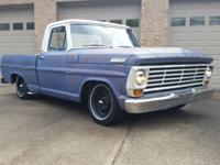 right here we have is a 1967 ford f100 2wd brief bed