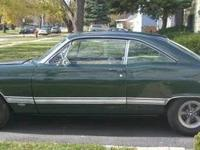1967 Ford Fairlane 500 2DR HT ..New '67 Dark Ivy Green