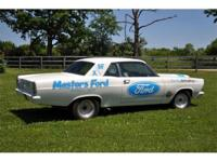 This White 1967 Fairlane 2 door post sedan with