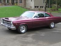 THIS 67 FAIRLANE IS DONE AS  WELL AS ANY WE HAVE EVER