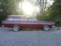 1967 Ford Fairlane Station Wagon California car All
