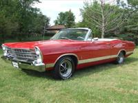 Beautiful1967 Galaxie XL Convertible390 Big BlockIn