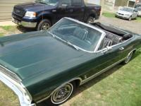 1967 Ford Galaxie XL 428 Convertible for sale. The car