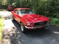 1967 Mustang began its life as a base V6 model. At some