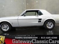 Stock #496-TPA 1967 Ford Mustang  $21,595 Engine: 289
