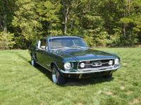 Offered for sale is a restored 1967 Mustang fastback.
